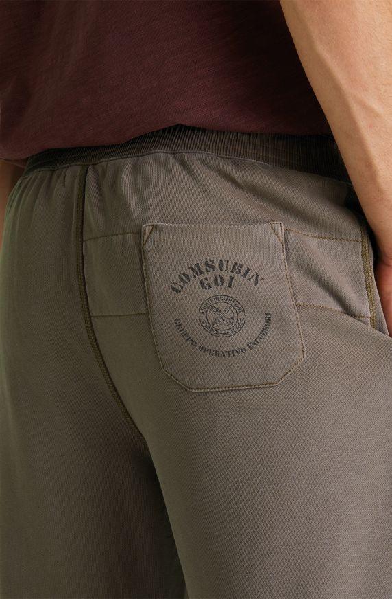 Pantaloni Felpa VERDE MILITARE