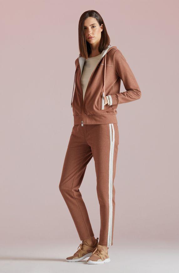 Pantaloni Felpa ROSA ANTICO