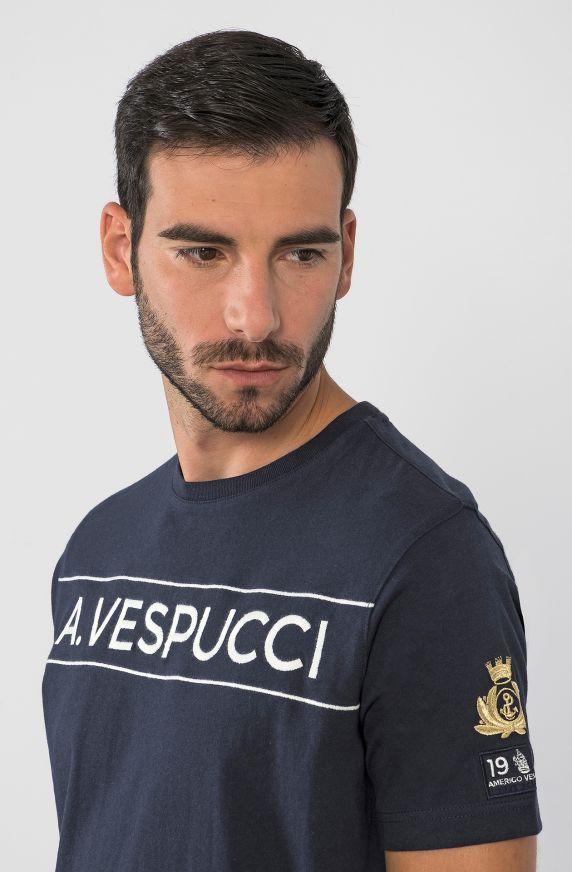 T-SHIRT NAVE SCUOLA AMERIGO VESPUCCI