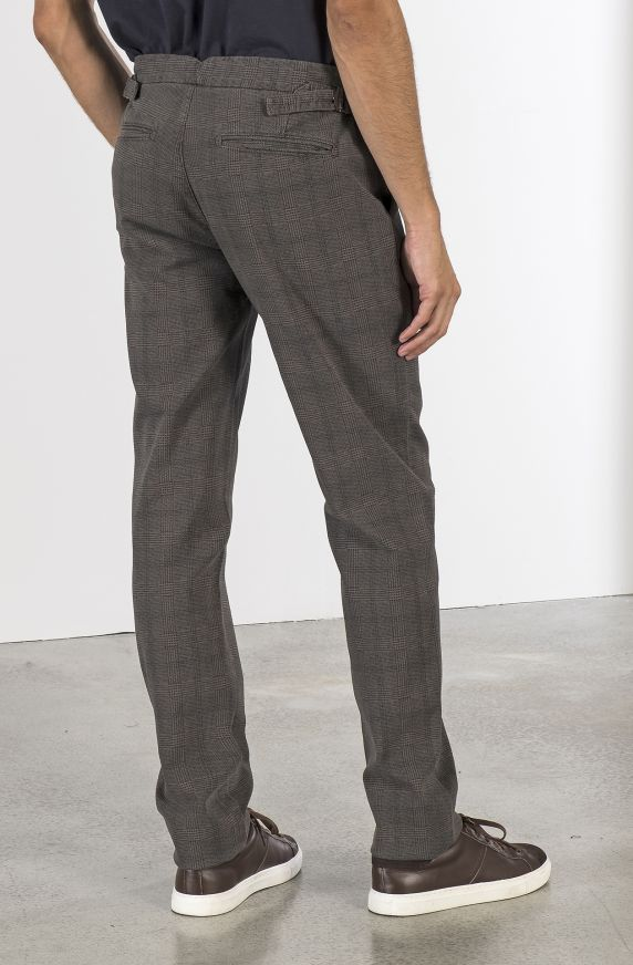 PRINCE OF WALES CHINO PANTS