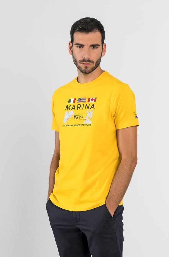 T-Shirt M/M GIALLO