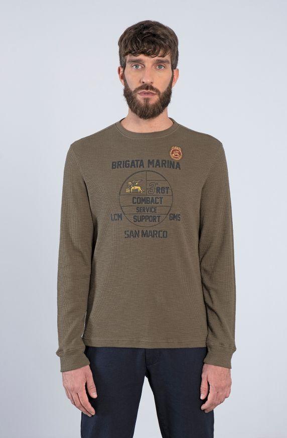 T-Shirt M/L VERDE MILITARE