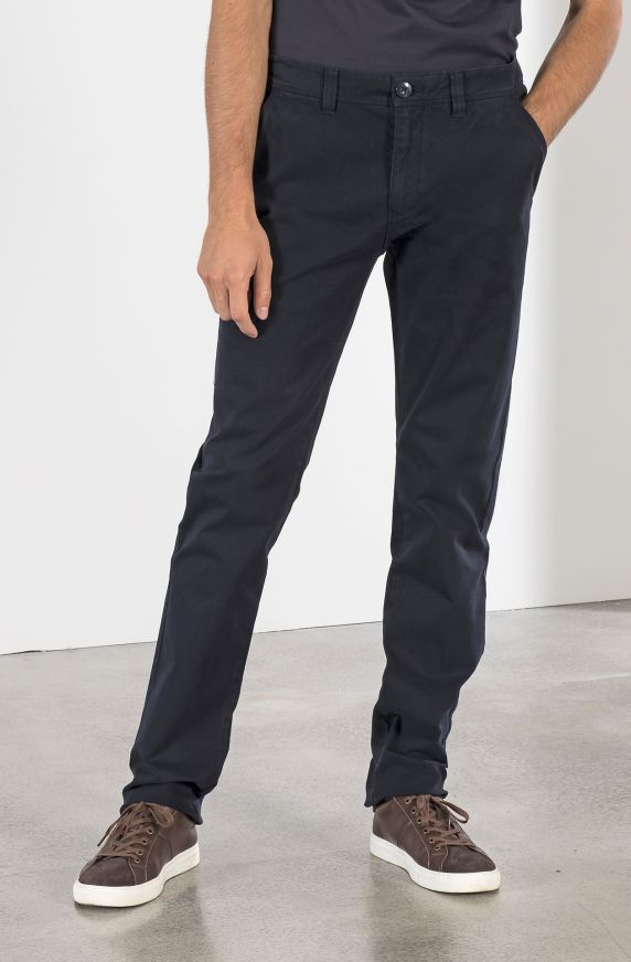 CHINO PANTS IN TEXTURED COTTON