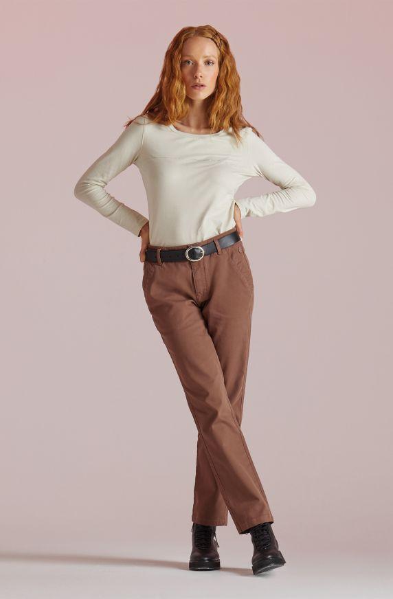 Pantaloni ROSA ANTICO