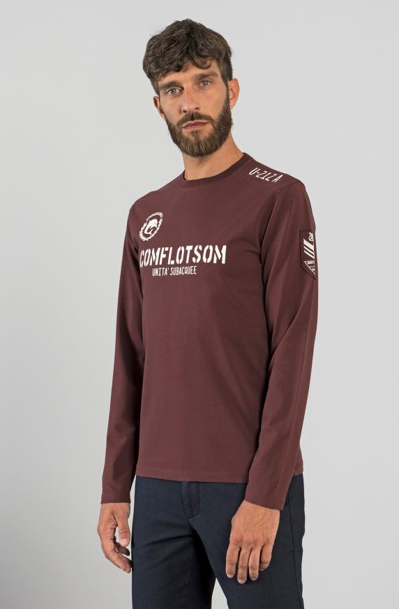T-Shirt M/L BORDEAUX