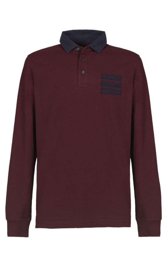 Polo M/L BORDEAUX