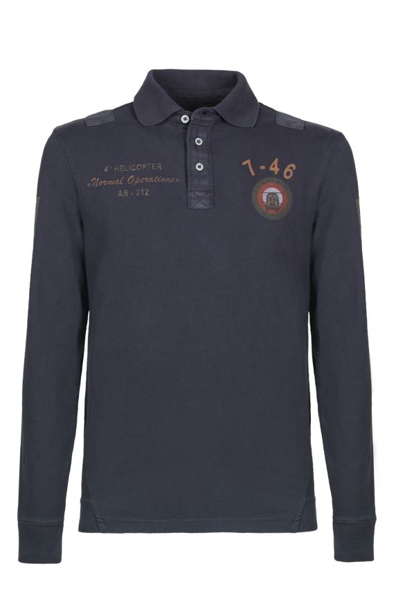 Polo M/L NAVY SCURO