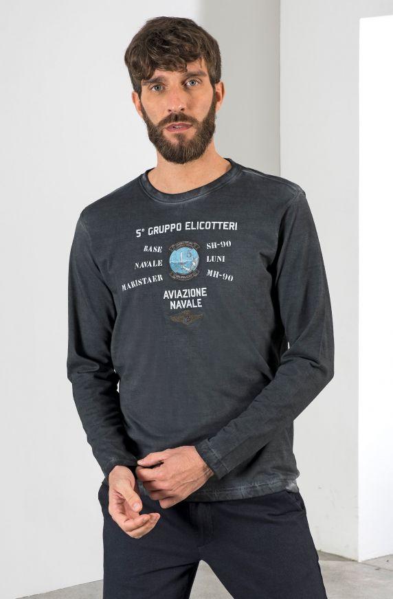 T-Shirt M/L GRIGIO SCURO