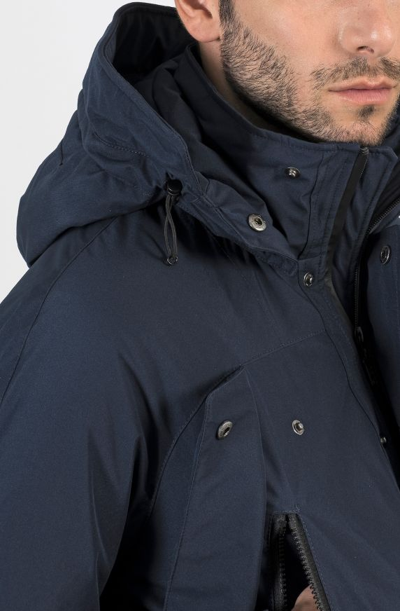 LINED HOODED PARKA
