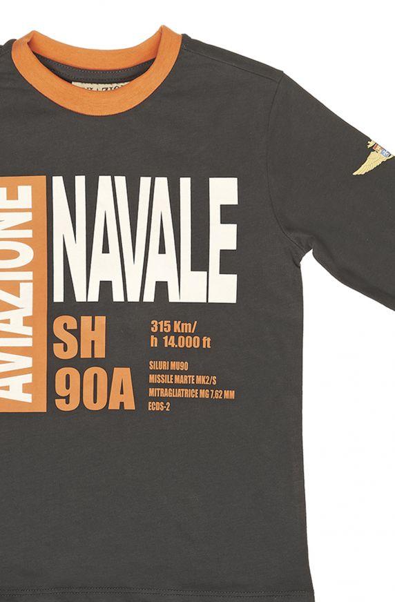 T-Shirt M/L NERO LAVAGNA