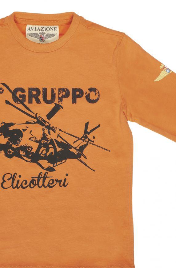T-Shirt M/L ARANCIO