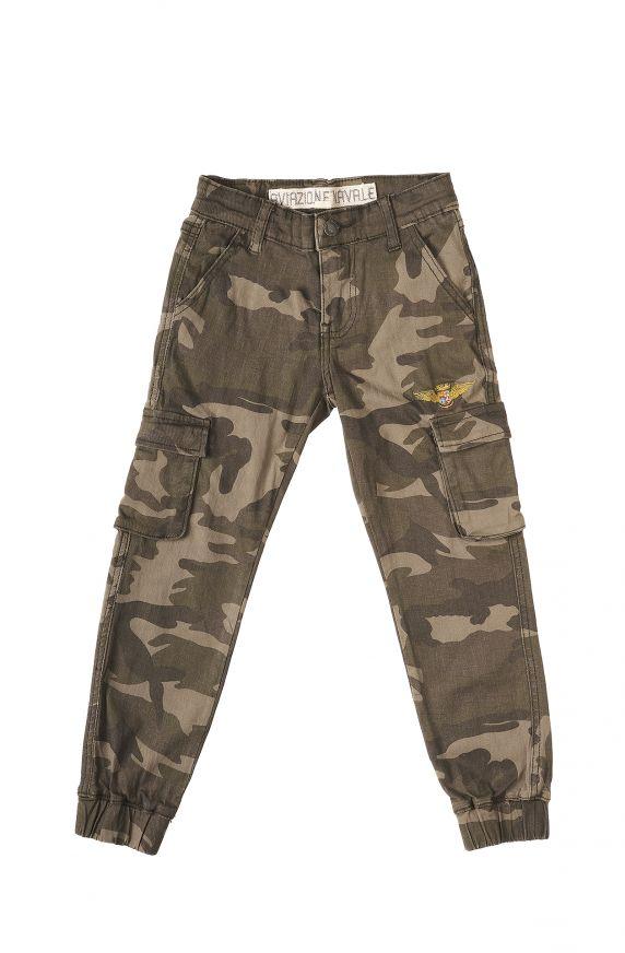 Pantaloni  CAMOUFLAGE MATTONE