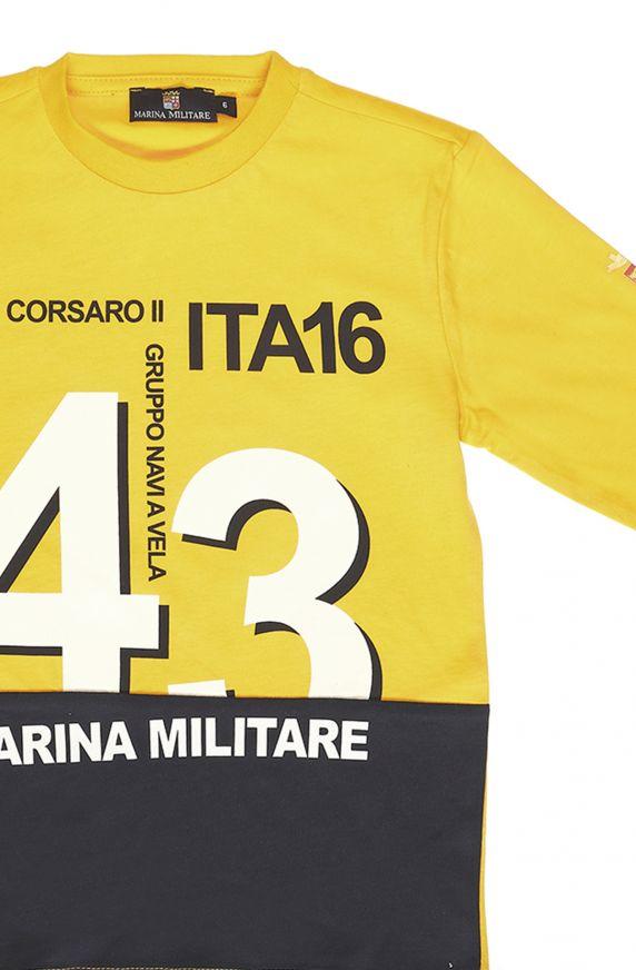 T-Shirt M/L GIALLO OCRA
