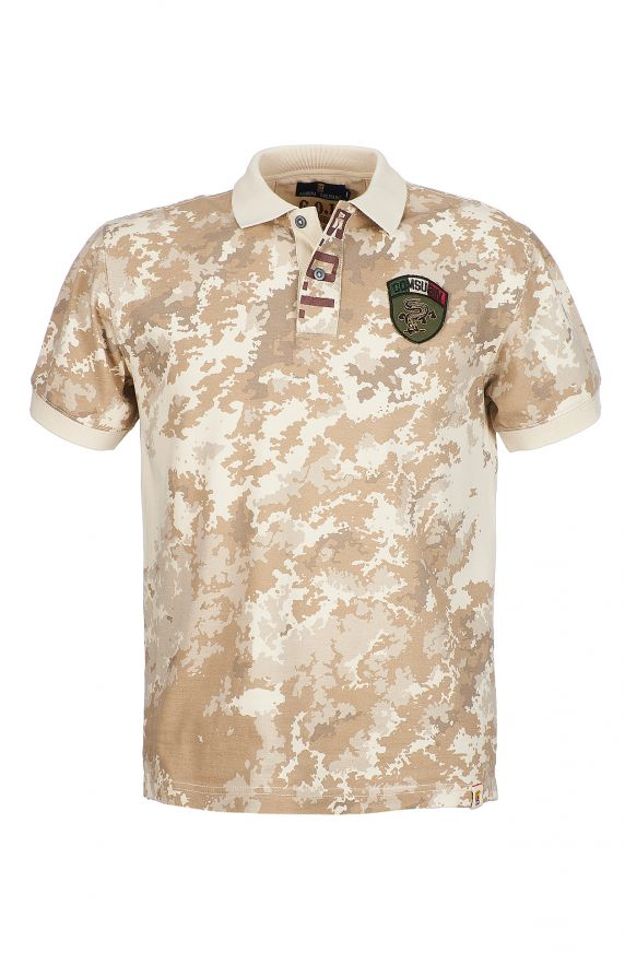 Polo M/M CAMOUFLAGE BEIGE
