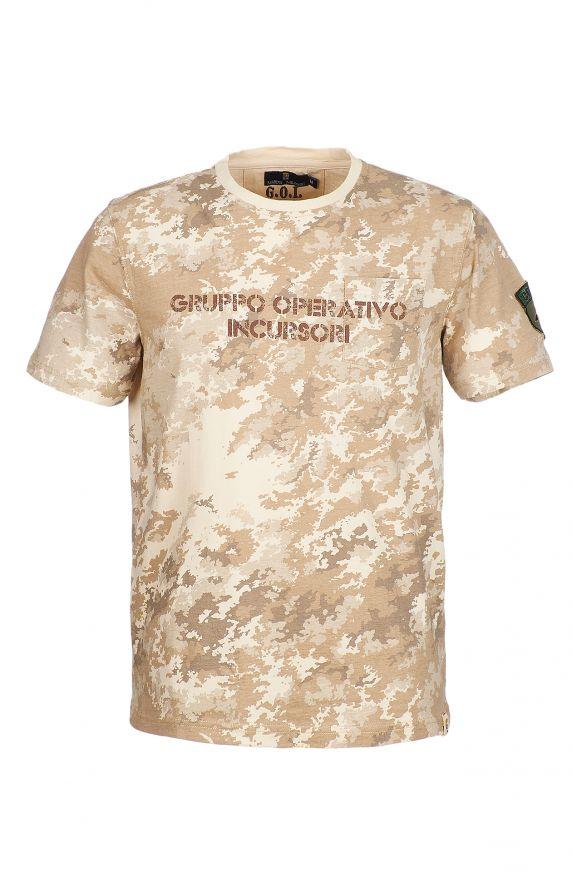 T-Shirt M/M CAMOUFLAGE BEIGE