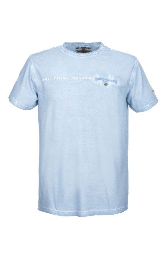 T-Shirt M/M CELESTE CHIARO