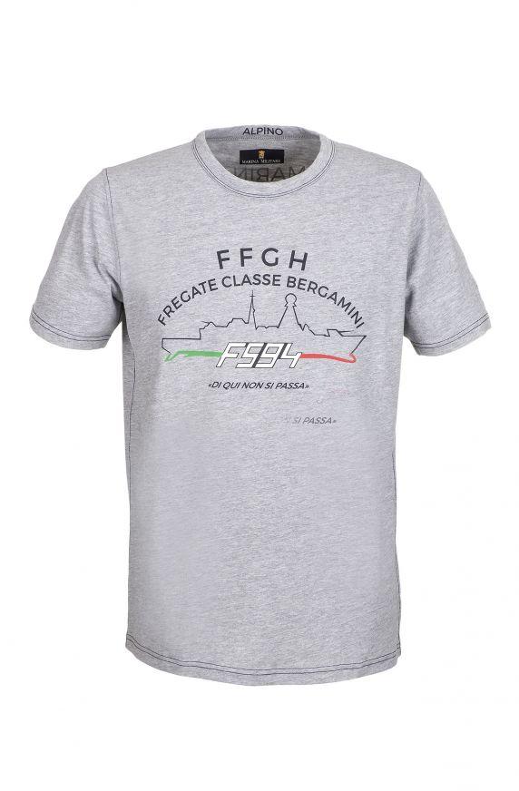 T-Shirt M/M GRIGIO CHIARO
