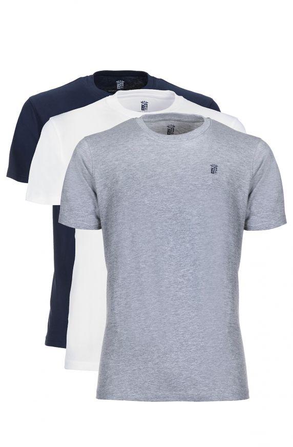 T-Shirt M/M (3 PACK ASSORTED) ASSORTITO