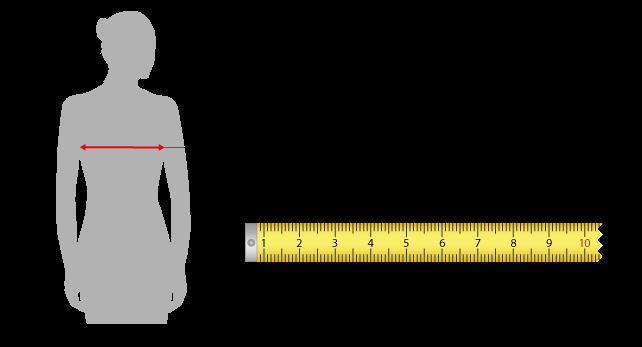 Guida alla misurazione taglie donna