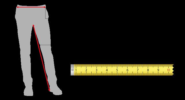 Guida alla misurazione taglie pantaloni