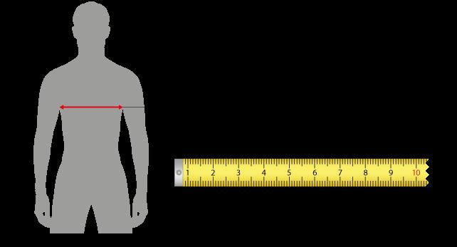Guida alla misurazione taglie uomo