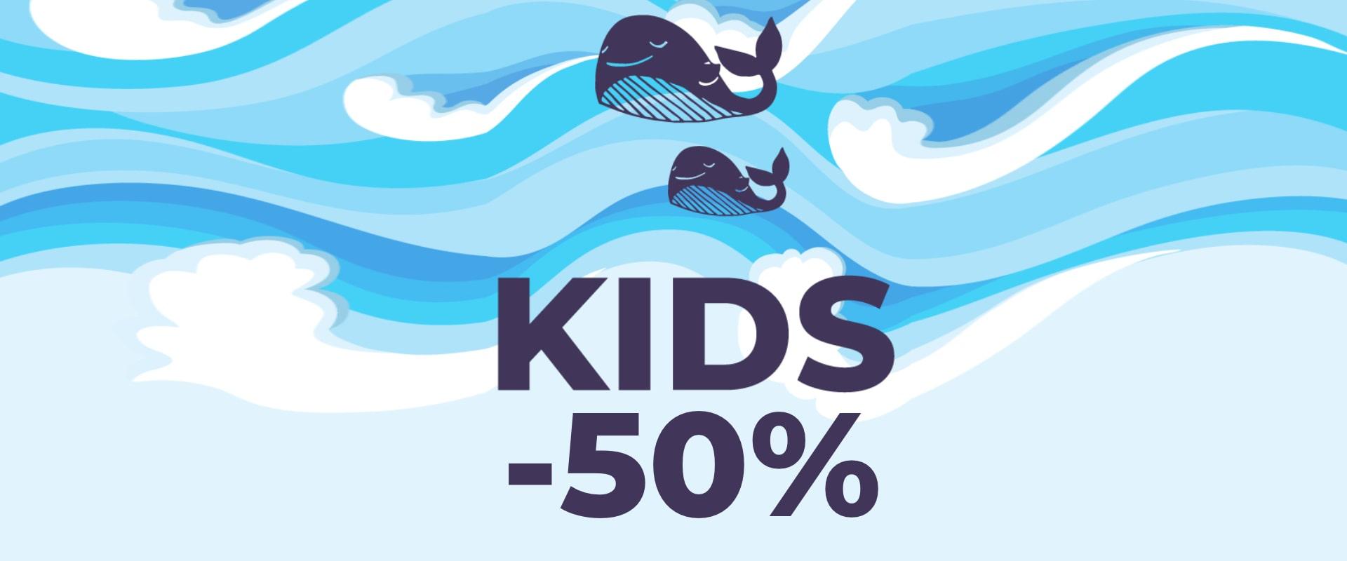 Kids -50%